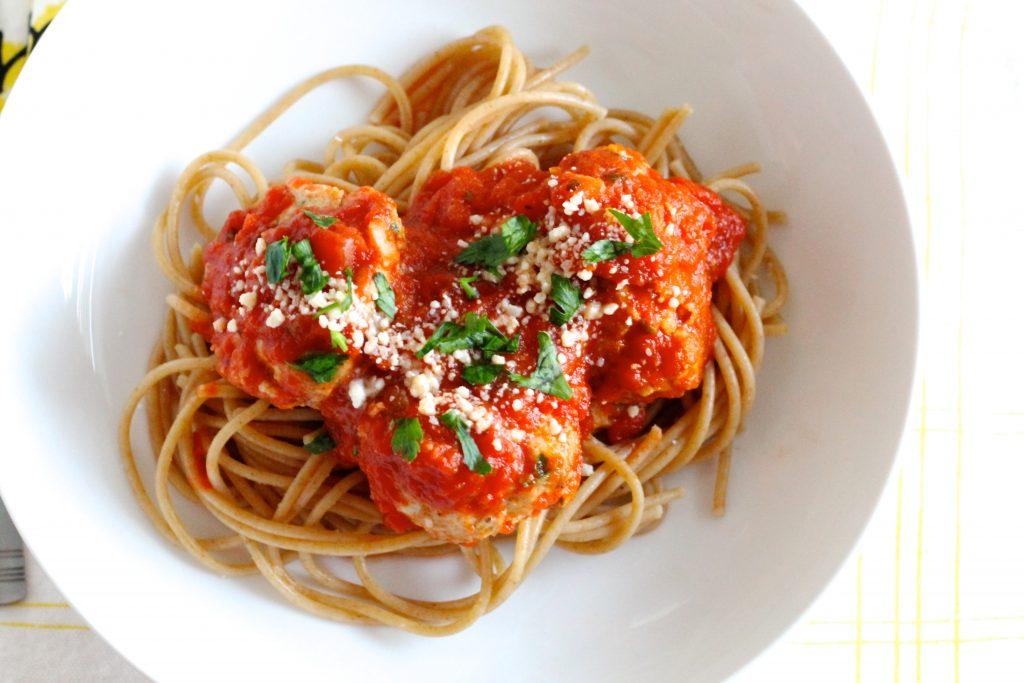 The Best Healthy Turkey Meatballs | www.littlechefbigappetite.com