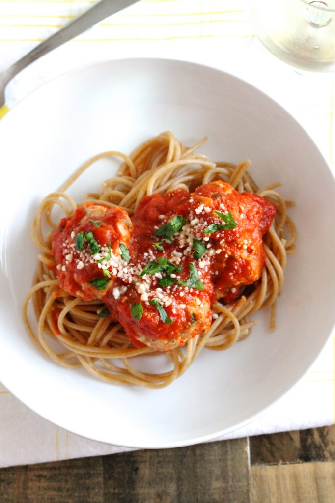 The Best Healthy Turkey Meatballs | www.littlechefbigappetite.com 4