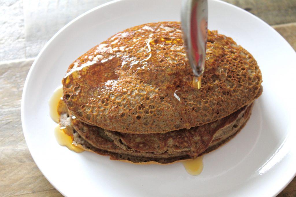 Gluten-Free Buckwheat Pancakes | www.littlechefbigappetite.com 6
