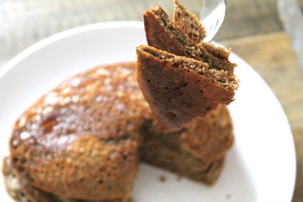 Gluten-Free Buckwheat Pancakes | www.littlechefbigappetite.com 2