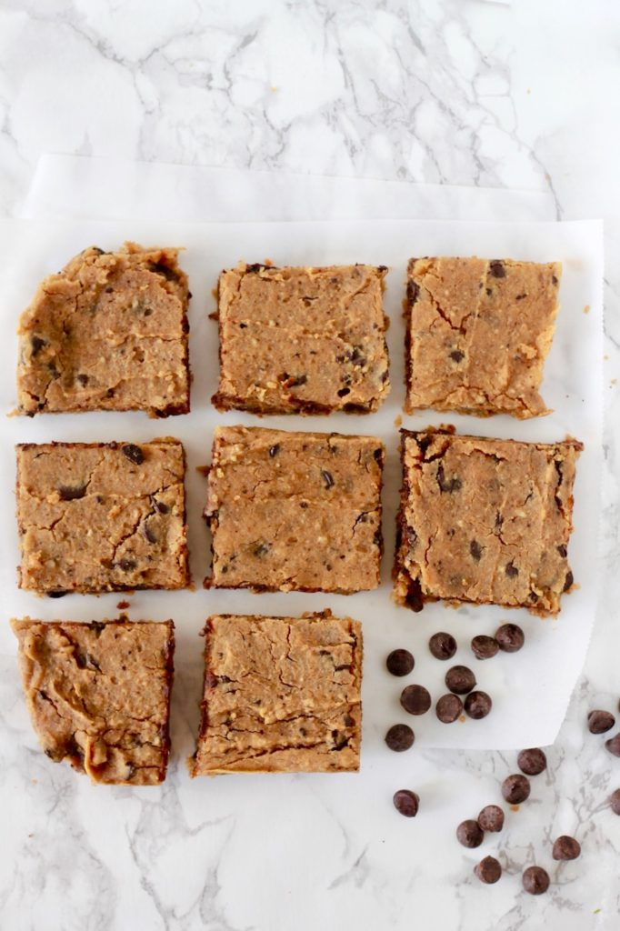 Healthy Chickpea Blondies | www.littlechefbigappetite.com 2