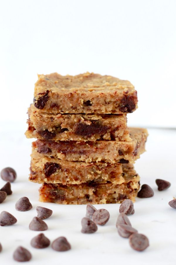 Healthy Chickpea Blondies