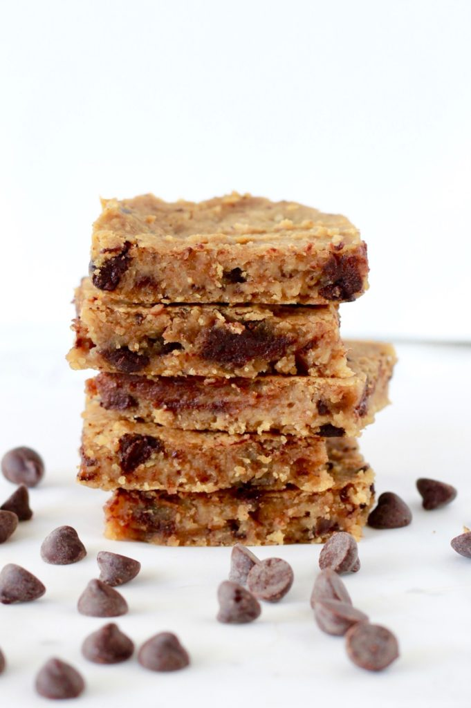 Healthy Chickpea Blondies | www.littlechefbigappetite.com 3