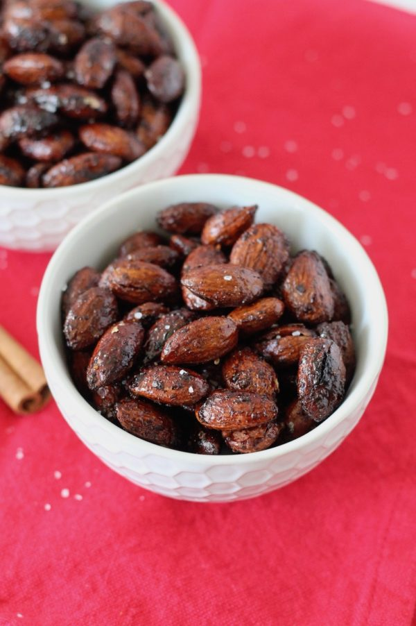 Spiced Roasted Almonds
