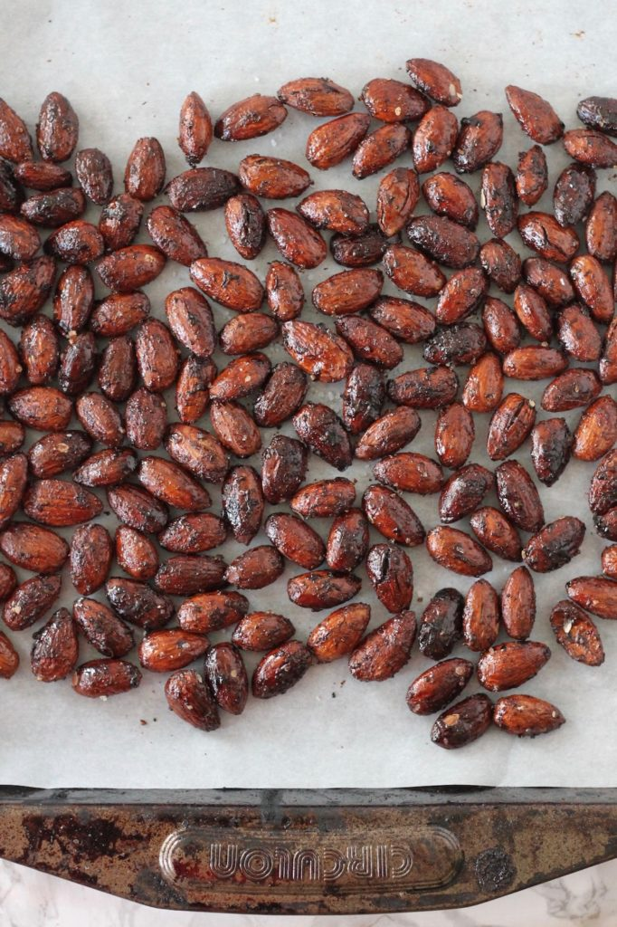 Spiced Roasted Almonds | www.littlechefbigappetite.com 1