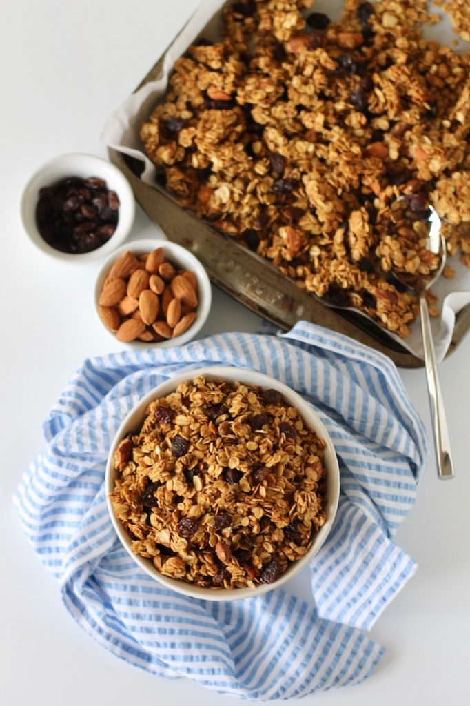 Cardamom Granola with Almonds and Pistachios | www.littlechefbigappetite.com 3
