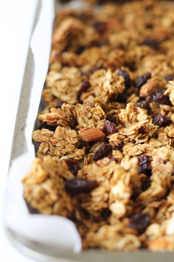 Cardamom Granola with Almonds and Pistachios | www.littlechefbigappetite.com 2