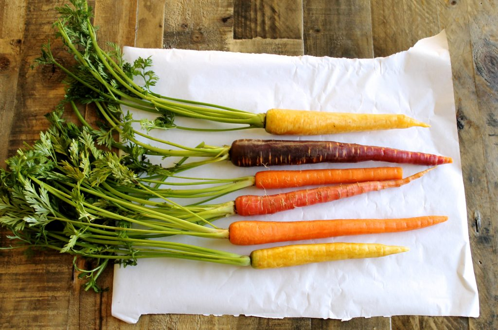 Roasted Carrots with Spiced Greek Yogurt Recipe | www.littlechefbigappetite.com
