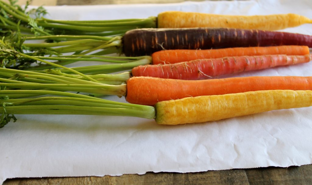 Roasted Carrots with Spiced Greek Yogurt Recipe | www.littlechefbigappetite.com 2