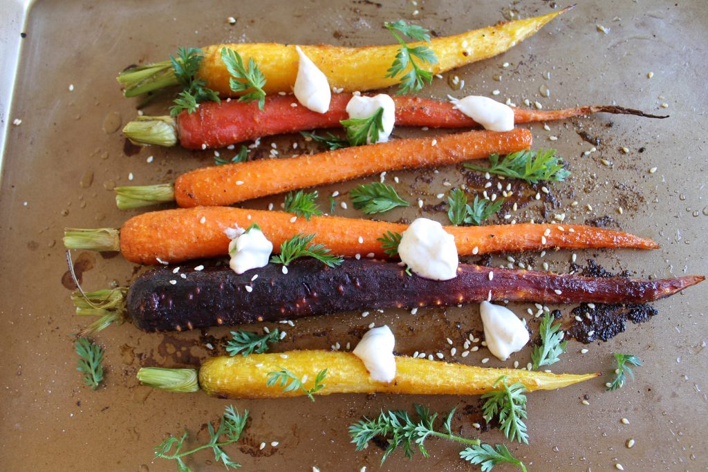 Spiced Roasted Carrots Recipe | www.littlechefbigappetite.com 1