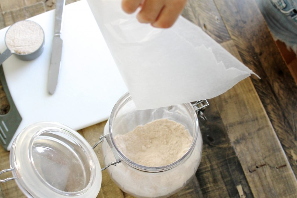 Wax Paper on a Cutting Board | www.littlechefbigappetite.com 1