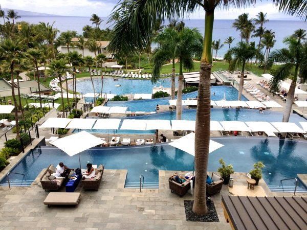 Andaz Maui Hawaii Pool View | www.littlechefbigappetite.com