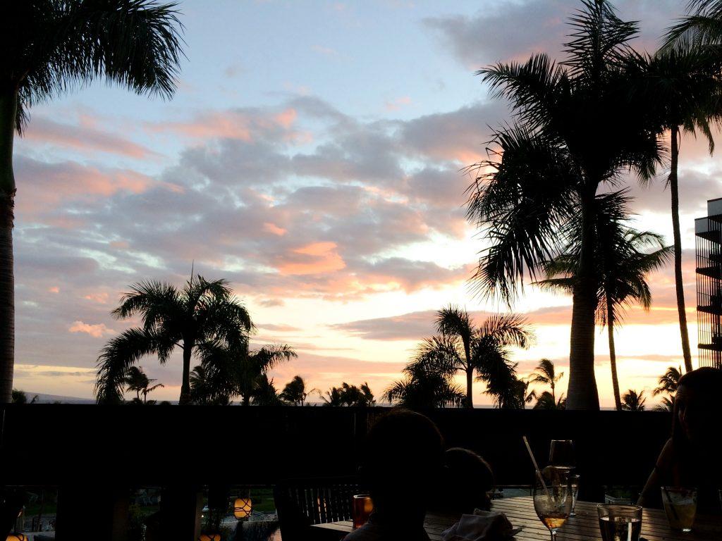 Watching Maui Hawaii Sunset   www.littlechefbigappetite.com