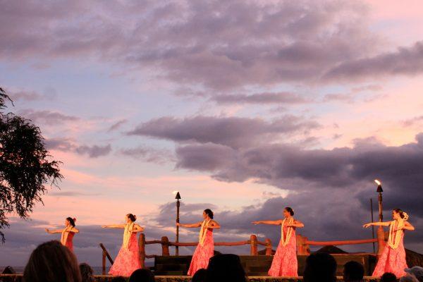 Beautiful Dancers at Maui Luau at Marriott Hotel | www.littlechefbigappetite.com 1