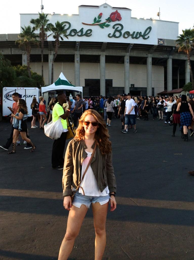 Rose Bowl Concert | www.littlechefbigappetite.com