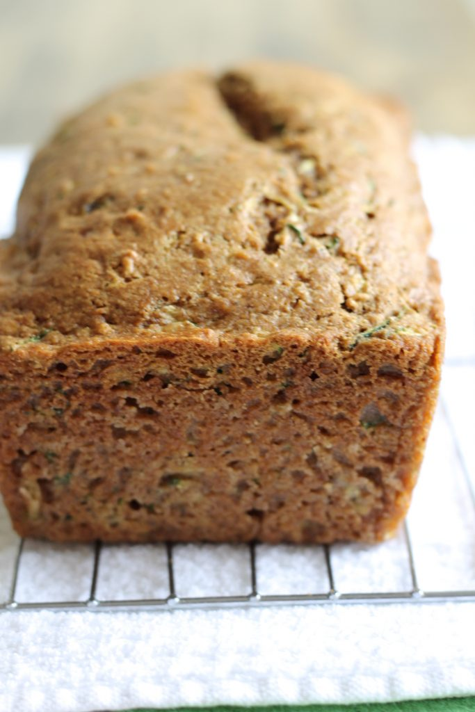 Healthy Whole Wheat Zucchini Bread Recipe | www.littlechefbigappetite.com