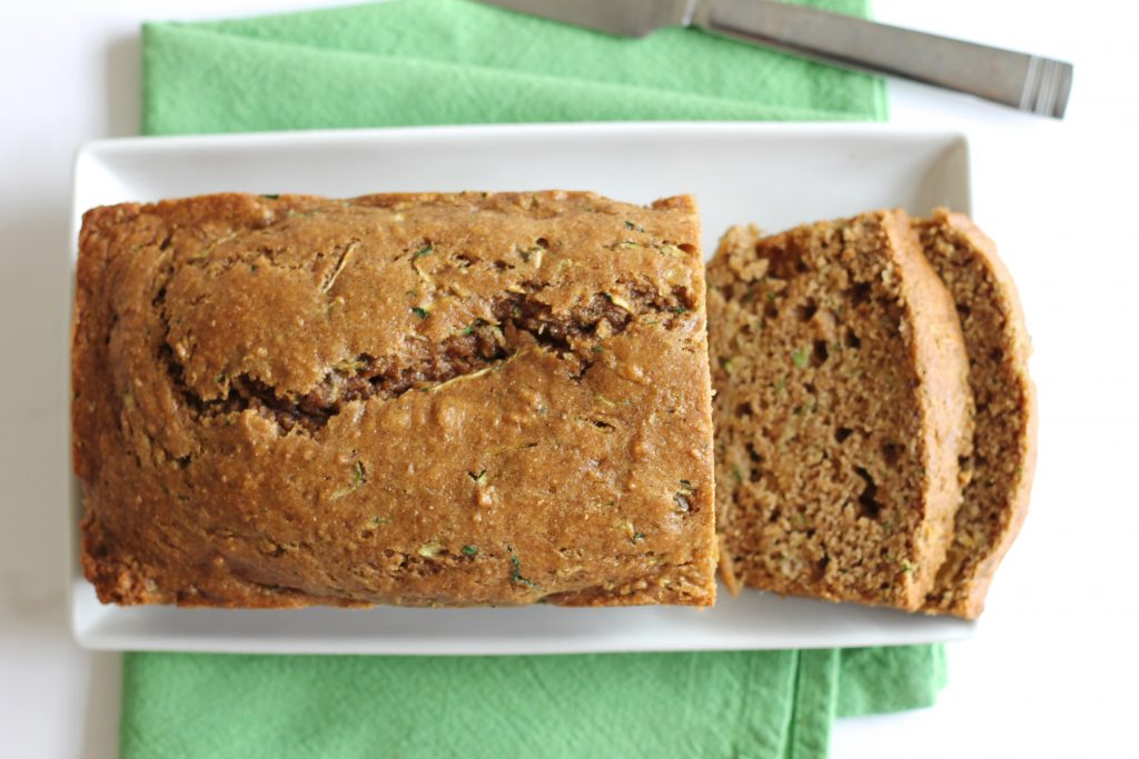 Healthy Whole Wheat Zucchini Bread Recipe | www.littlechefbigappetite.com 3