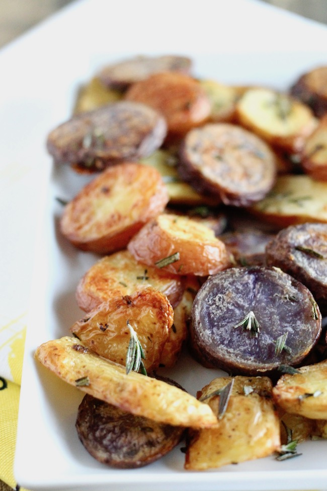 Extra Crispy Roasted Potatoes | www.littlechefbigappetite.com