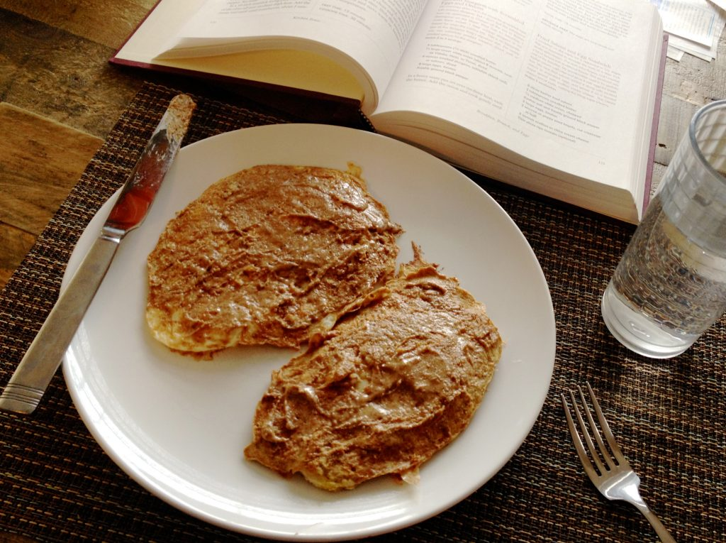 Protein Pancakes Breakfast Table | www.littlechefbigappetite.com