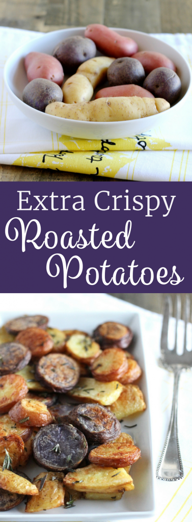How to Make Extra Crispy Roasted Potatoes | www.littlechefbigappetite.com