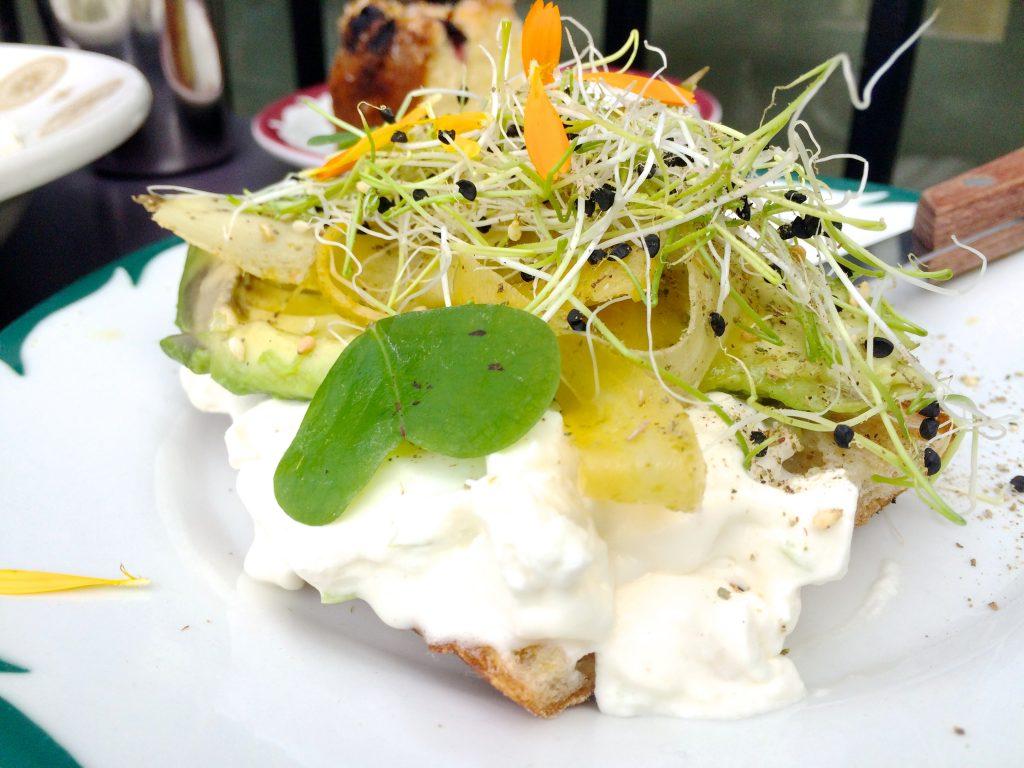 Sqirl Los Angeles Avocado Toast | www.littlechefbigappetite.com