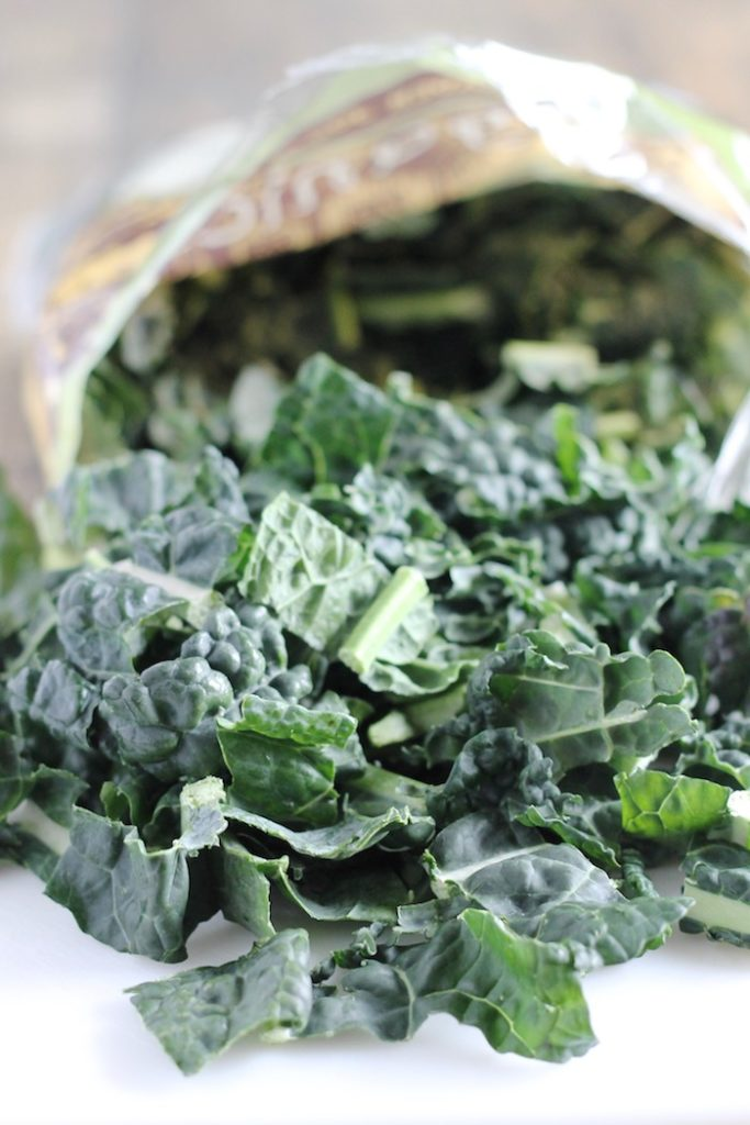 Bag of Chopped Kale   www.littlechefbigappetite.com