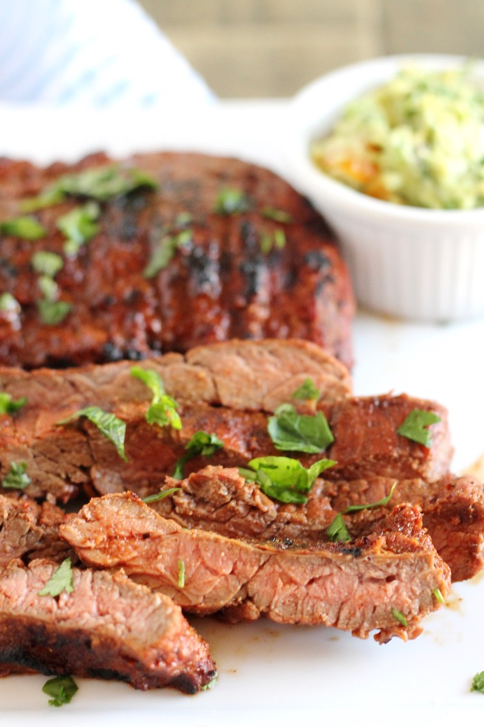 Grilled Skirt Steak Marinade | www.littlechefbigappetite.com 1