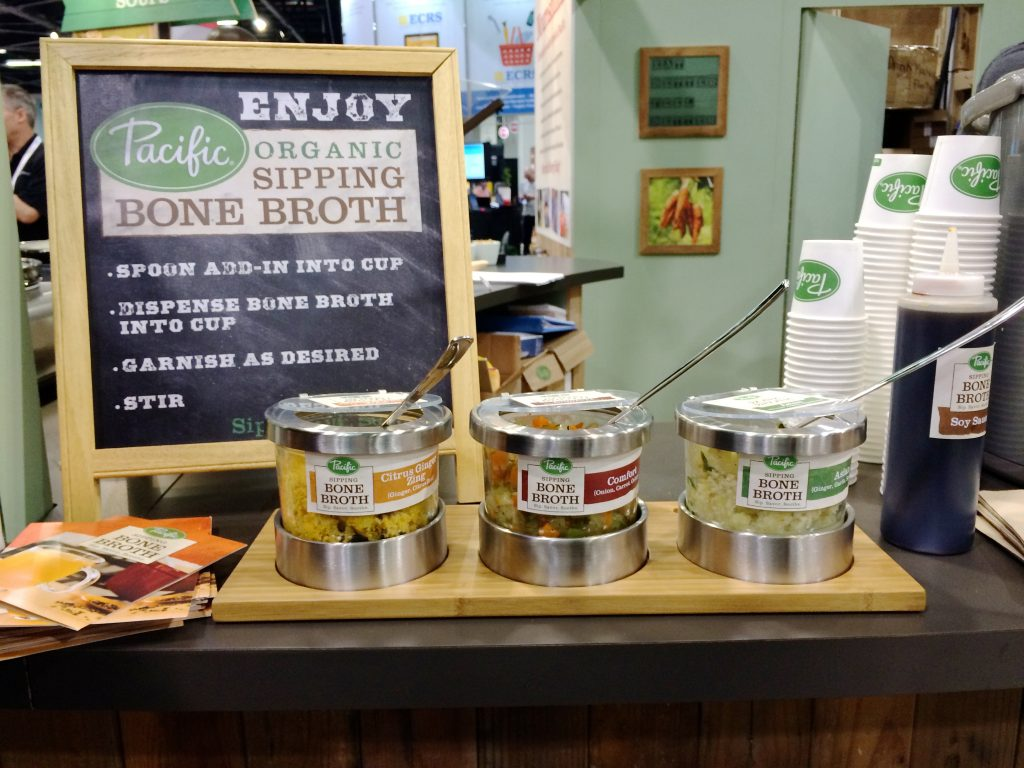 Pacific Bone Broth  at Natural Products Expo West | www.littlechefbigappetite.com