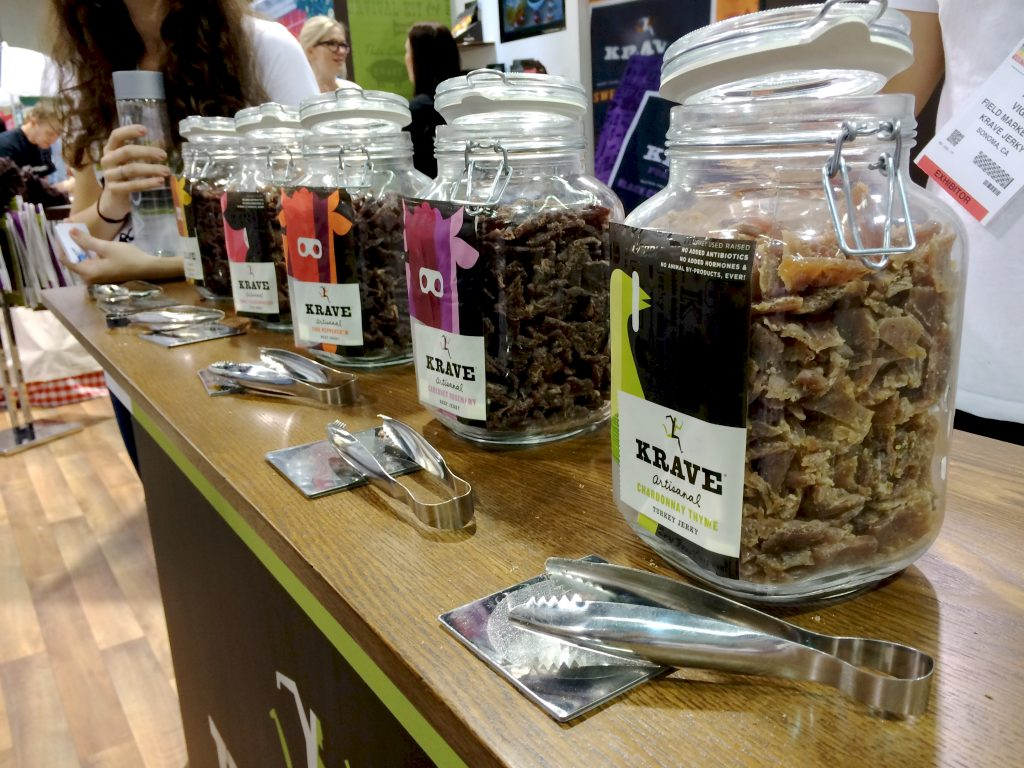 Krave Jerky at Natural Products Expo West | www.littlechefbigappetite.com