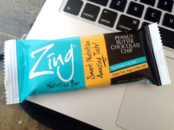 Peanut Butter Chocolate Chip Zing Bar   www.littlechefbigappetite.com