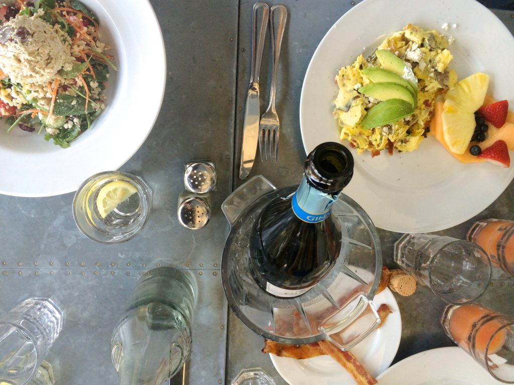Brunch at Courtyard Kitchen Santa Monica | www.littlechefbigappetite.com