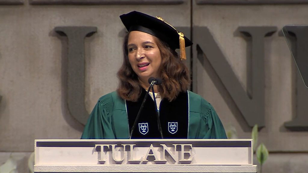 Maya Rudolph Tulane Graduation Speech