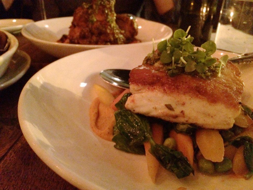 Siena Tavern Fish Chicago | www.littlechefbigappetite.com