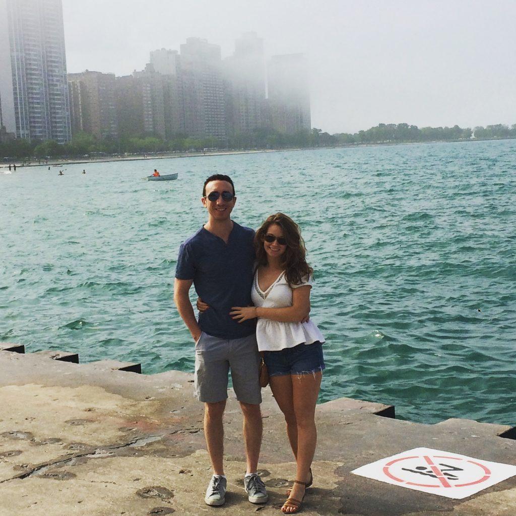 Chicago Waterfront Rachel and Travis