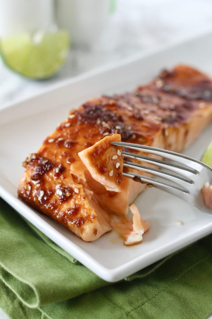 Asian Glazed Salmon Little Chef Big Appetite