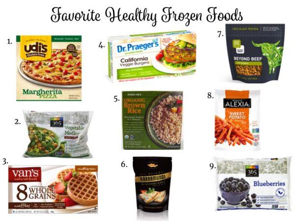 My Favorite Healthy Frozen Foods // www.littlechefbigappetite.com
