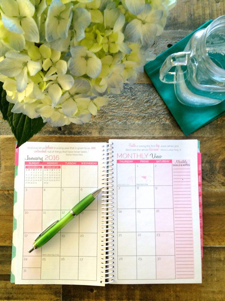 Paper Planner - 2016 Goals