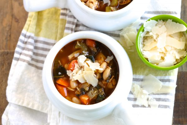 Tuscan White Bean Soup with Chicken