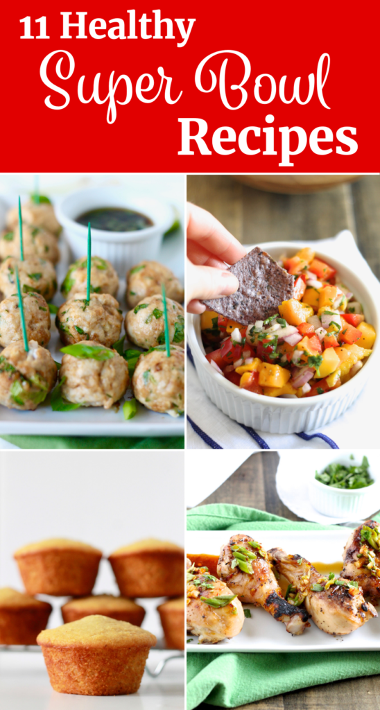 Healthy Super Bowl Recipes | littlechefbigappetite.com