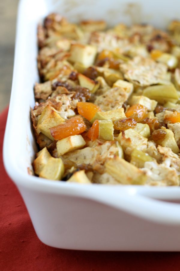 Passover Matzo Kugel with Apples