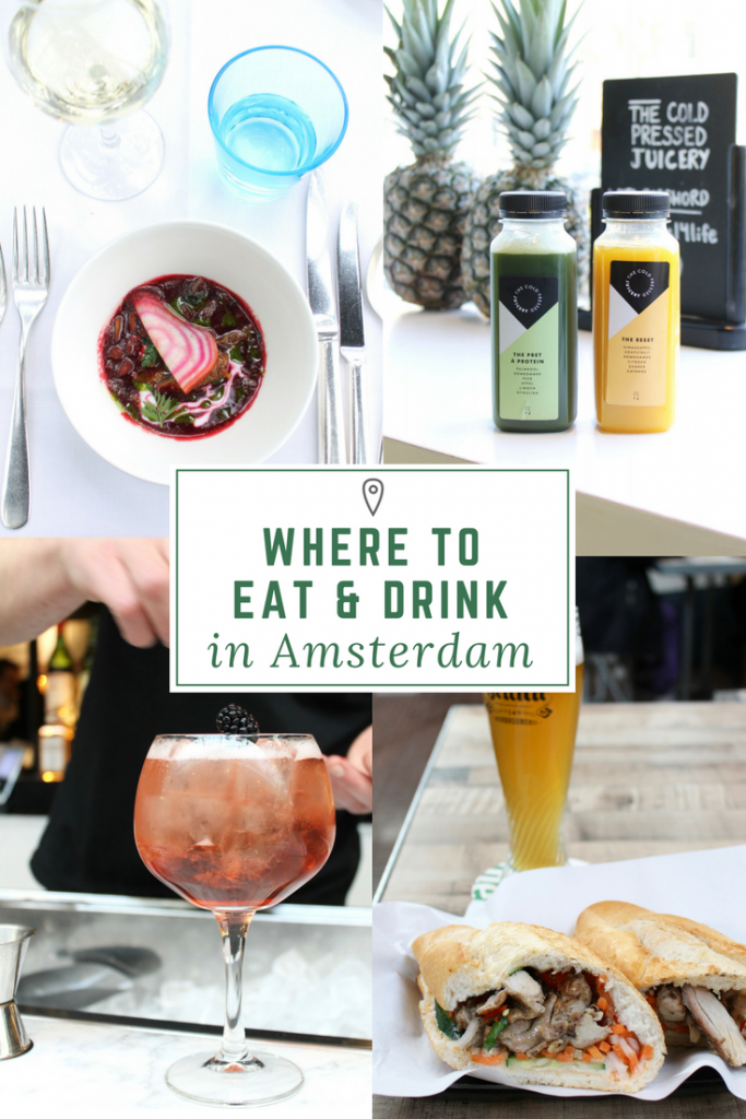 Know before you go: Where to Eat and Drink in Amsterdam. Including everything from cheap eats to fine dining, there is something on the list for everyone. // www.littlechefbigappetite.com // Amsterdam Travel Tips, Amsterdam Itinerary, What to do in Amsterdam, Amsterdam Restaurants, Amsterdam Eats, Amsterdam Food