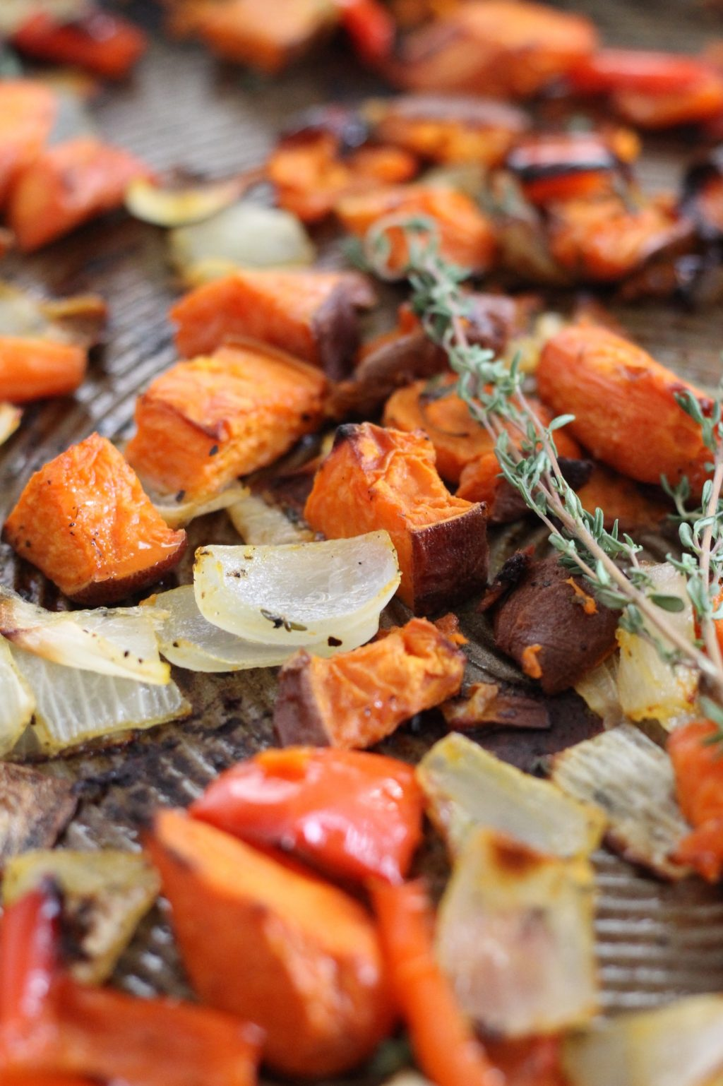How to Make Perfectly Crispy Roasted Vegetables ll www.littlechefbigappetite.com