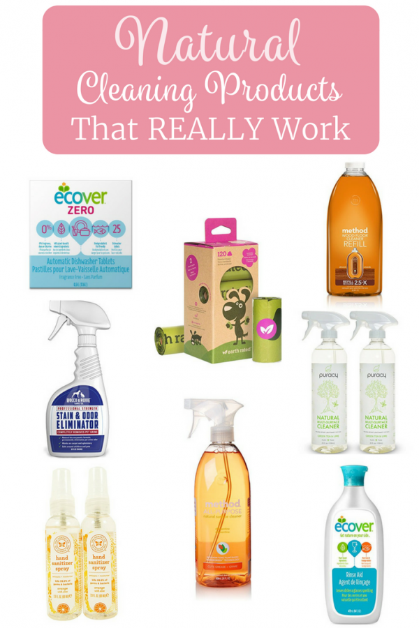 Natural Cleaning Products That Really Work