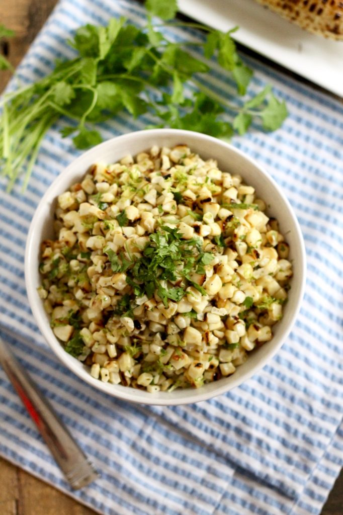 Healthy Lime Corn Salad | www.littlechefbigappetite.com 5