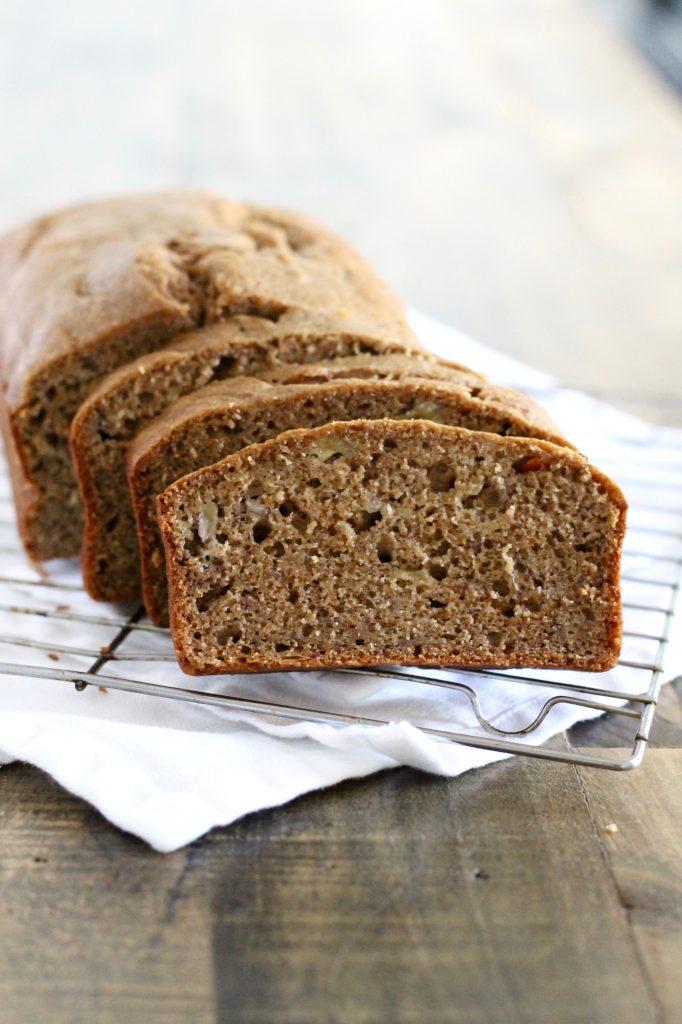 Healthy Whole Wheat Banana Bread Recipe | www.littlechefbigappetite.com 2