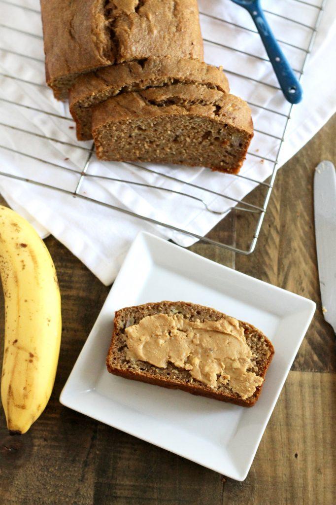 Healthy Whole Wheat Banana Bread Recipe | www.littlechefbigappetite.com 3