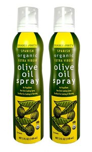 Trader Joe's Extra Virgin Olive Oil Spray -- What I'm Loving Lately July 2017 -- www.littlechefbigappetite.com