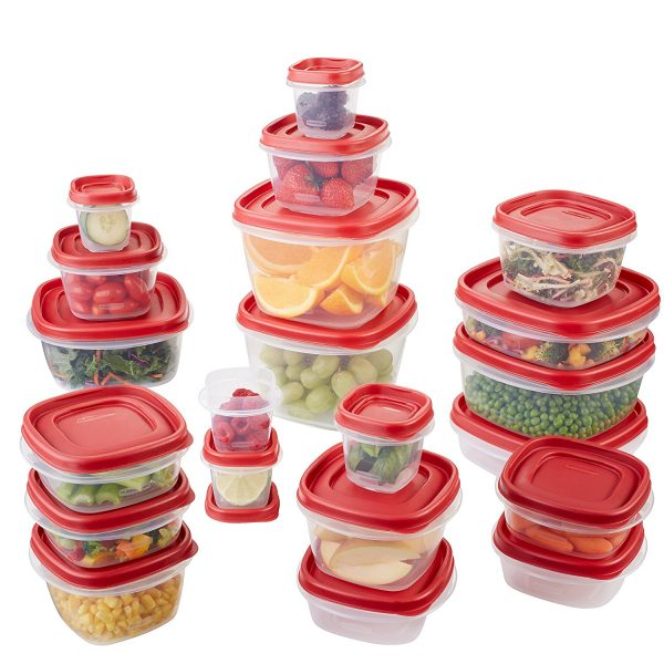 Rubbermaid 42-Piece Food Storage Containers | www.littlechefbigappetite.com