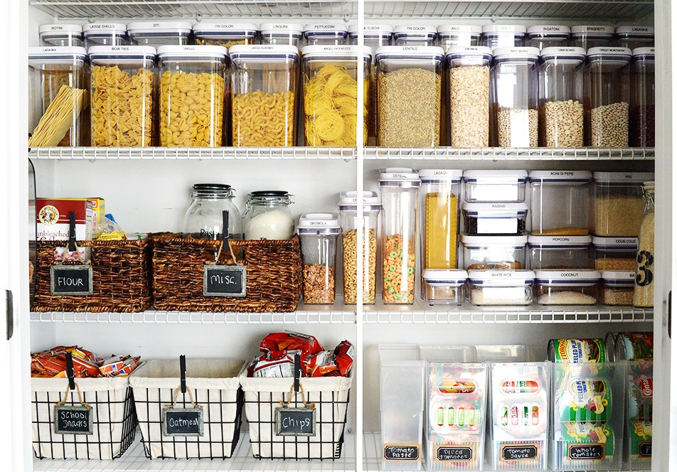 Beautiful Organized Pantry