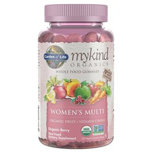 garden of life womens multi vitamin gummy